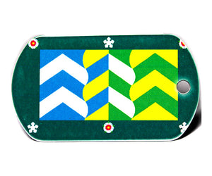 English County Flag Tag - Cumbria