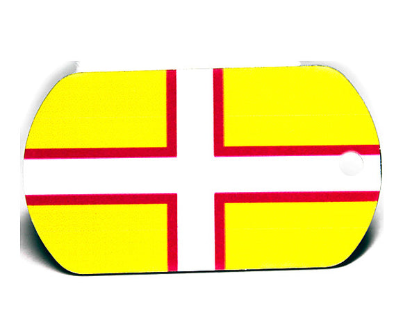 English County Flag Tag - Dorset