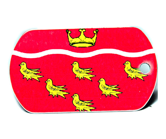 English County Flag Tag - East Sussex