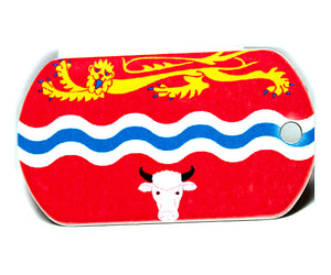 English County Flag Tag - Herefordshire