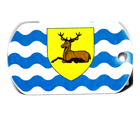 English County Flag Tag - Hertfordshire