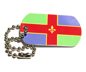 English County Flag Tag - Lincolnshire