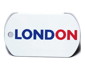 English County Flag Tag - London