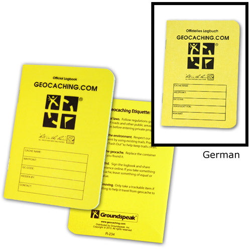 Official Medium RITR - 24 Sheet Logbook - English