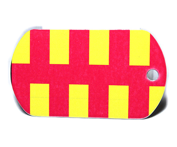 English County Flag Tag - Northumberland