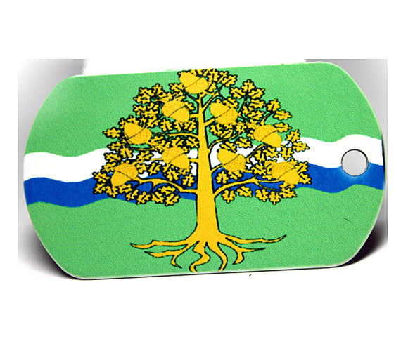 English County Flag Tag - Nottinghamshire