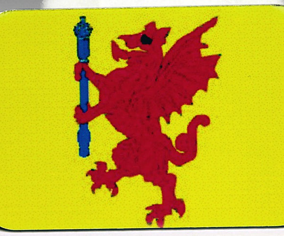 English County Flag Tag - Somerset