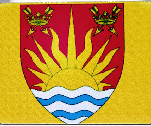 English County Flag Tag - Suffolk