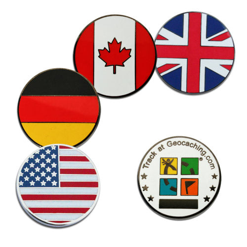 Country Micro Geocoin -  UNITED STATES
