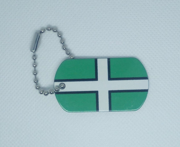 English County Flag Tag - Devon