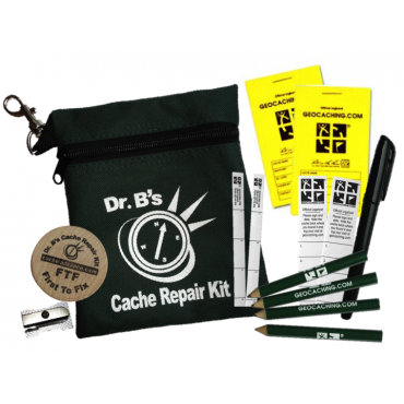 Dr B's Cache Repair Kit - Green