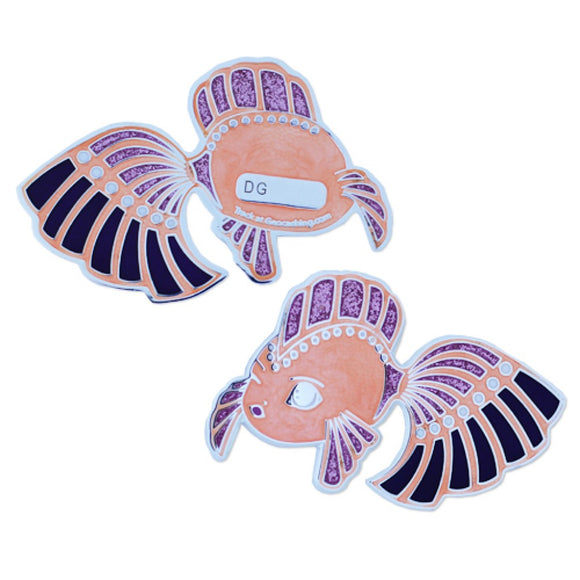 Dream Fish Geocoin - Pink