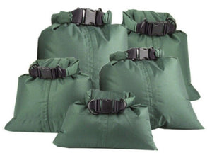 Waterproof Dry Bag - GREEN - Various Sizes