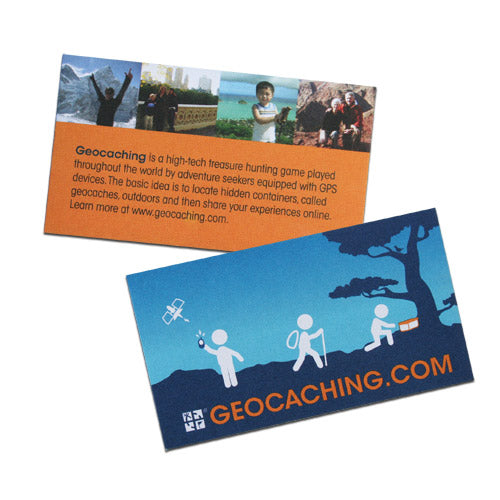 GEOCACHING.COM Trail Card