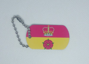 English County Flag Tag - Hampshire