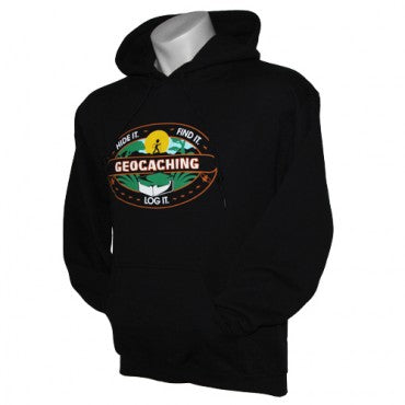 Hide It, Find It, Log It Hoody - Black - Medium