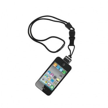 iCat Neck It® Lanyard for iPhone - Black
