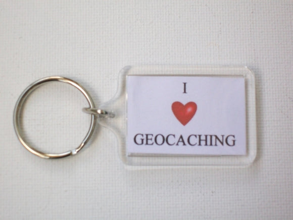 Keyring - I Love Geocaching