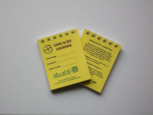 10x Logbook - RITR - SMALL - YELLOW