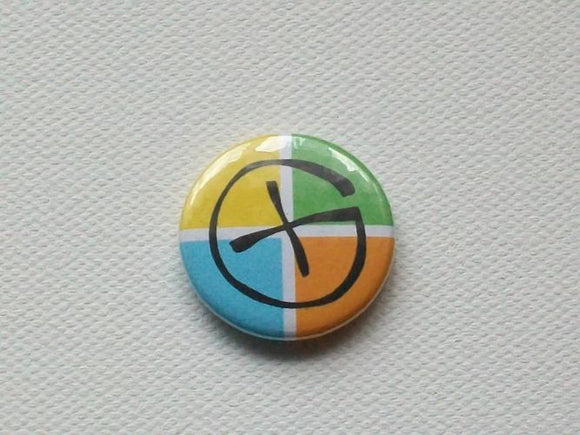 Badge - 25mm - Logo 4 Colour