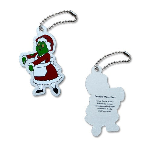 Trackable - Mrs. Claus the Zombie