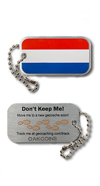 Flag Tag - Netherlands