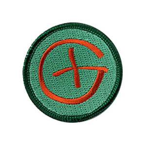 Patch - Brown Geocaching Logo - 2 inch