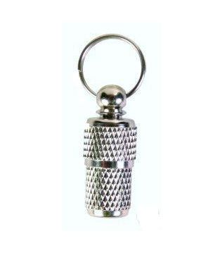 Stainless Steel Pet ID Barrel