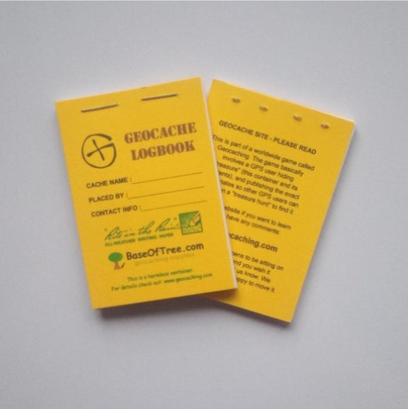 Logbook - RITR - Yellow/white - Various Sizes