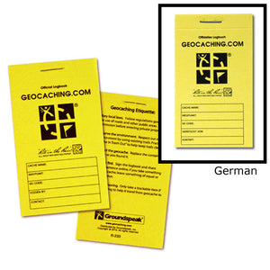 Official Small RITR Logbook - English