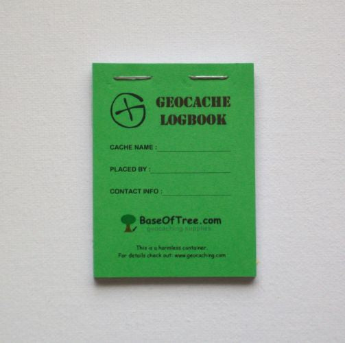 10x Logbook - SMALL - GREEN