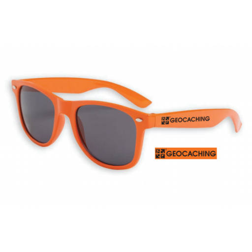 Geocaching Logo Sunglasses - Orange