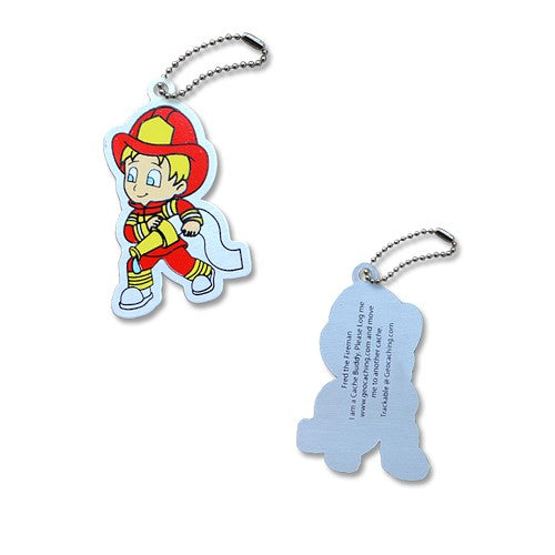 Trackable - Fred the Fireman
