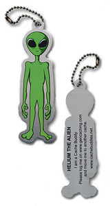 Trackable - Helium the Alien