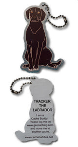 Trackable - Tracker the Labrador