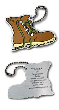 Trackable - Trekker the Hiking Boot
