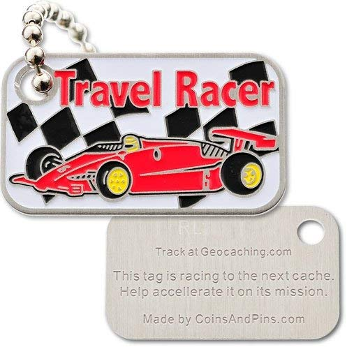 Travel Racer Late Formula One Red Trackable Tag