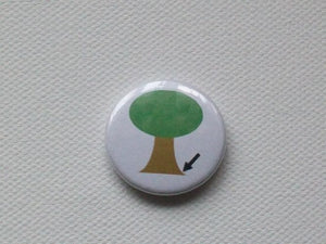 Badge - 25mm - Tree