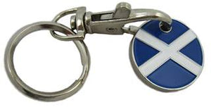 Trolley Token Keyring - Scotland
