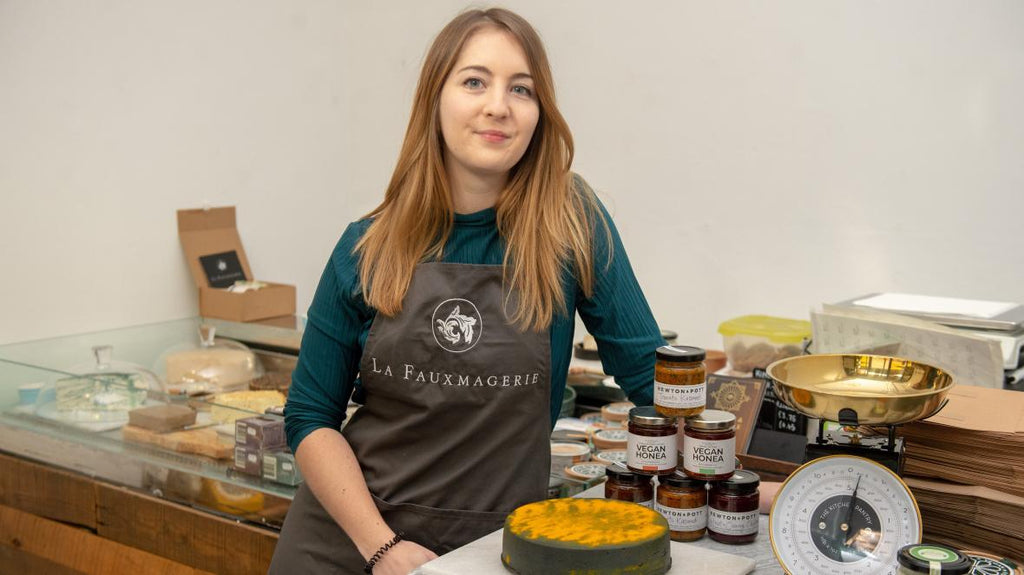 London's vegan cheese shop causes a stink with farmers