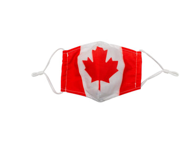 Canadian Flag Mask