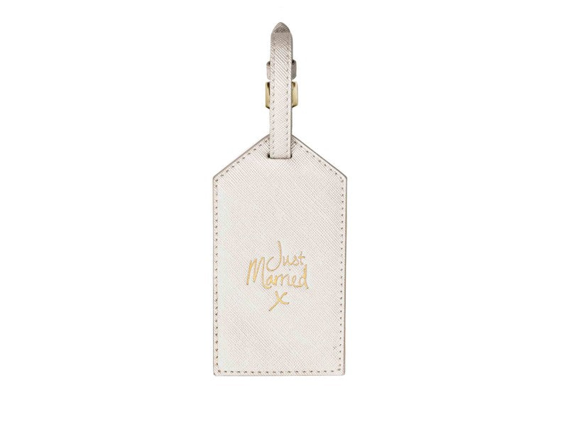LUGGAGE TAG - JUST MARRIED