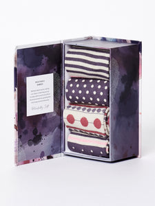 SPOT & STRIPE SOCK GIFT BOX