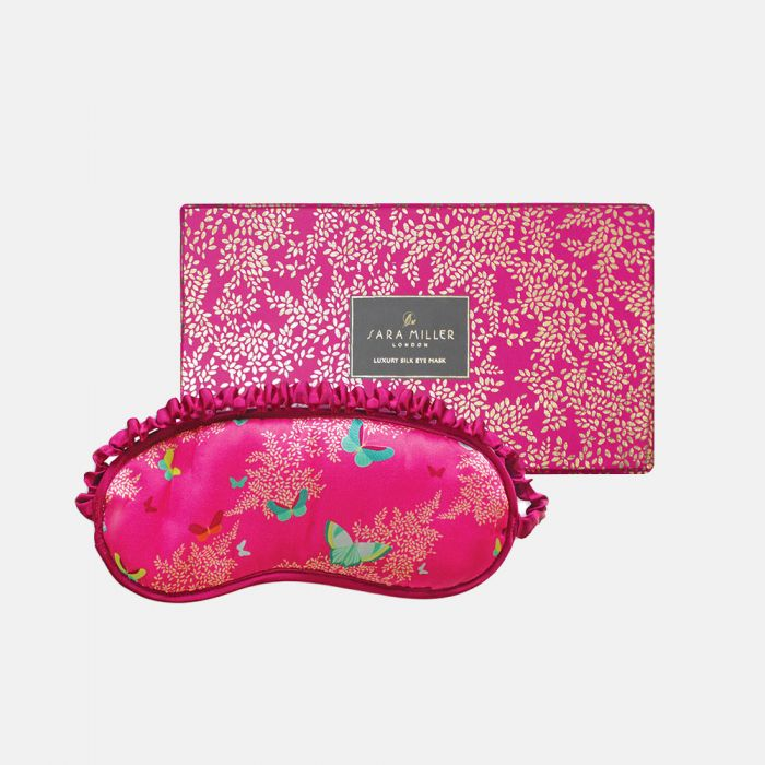 BUTTERFLIES SILK EYE MASK