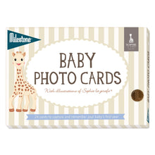 Load image into Gallery viewer, SOPHIE LA GIRAFE BABY CARDS