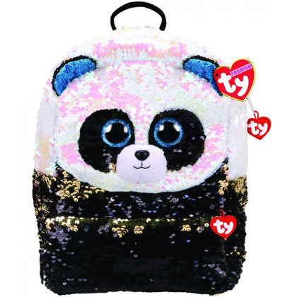 Ty Fashion Sequin Panda Bamboo, Backpack - 2071MALL
