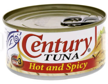 Century Tuna Hot And Spicy 180g - 2071MALL