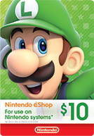 Nintendo United States $10 US Dollar (USD)- Instant Delivery (Prepaid Only) - 2071MALL