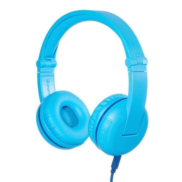 BuddyPhones - Play Wireless Bluetooth Headphones For Kids - Blue, BP-PLAY-GLACIER - 2071MALL
