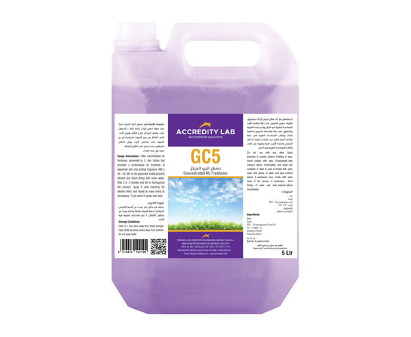 GC 5-Concentrated Multi Purpose Disinfectant Cleaner& Air Freshner by Accredity Lab - 2071MALL